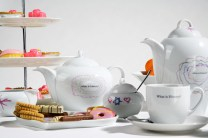 Tea set made in partnership with Southwick Primary