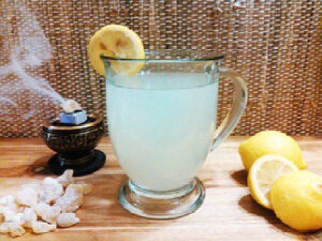 how to make frankincense & Myrrh tea