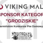 Viking Malt – sponsor Warmińskiego Konkursu Piw Domowych