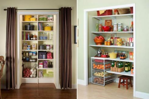 Create Kitchen Storage in a Nearby Room