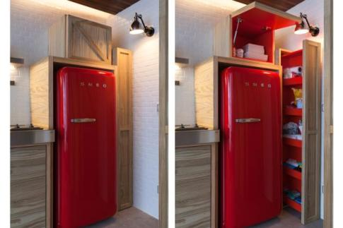 Make Use of the Space Around Your Fridge