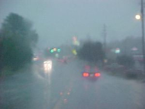 Campaigns - Wet Weather - driving