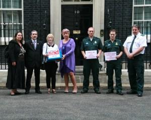 SADS UK Downing Street Visit