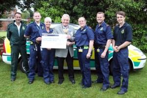 ROTARY RAISES £5,000 FOR CFRs