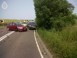 Serious RTC in Shropshire 1