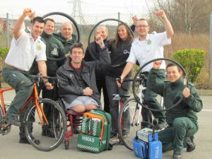 Paramedics Pedal for Pilgrim Bandits 2