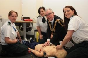 Hub Visit a Real Eye Opener for Lord Mayor of Birmingham 3