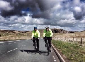 FOUR PARAMEDICS, TWO WHEELS AND 850 MILES IN JUST SEVEN DAY