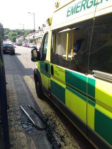 Ambulance Attacked 1
