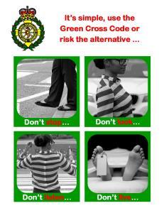 pedestrian safety portrait