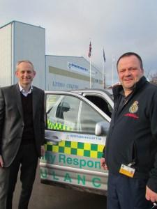 Bridgnorth Aluminium Helps Local Lifesavers 2