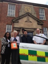 Defibrillator installed to help boarding school students in Shropshire 1