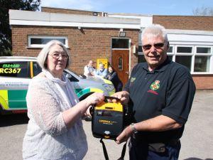 Defibrillator heaven in Balsall Common (2)