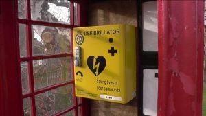 AED in Phonebox