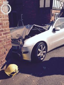 Response to car crash in Severn Stoke is praised