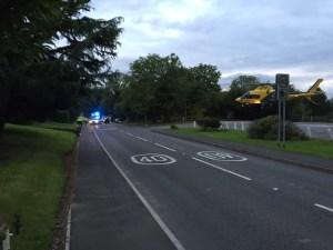 Motorcyclist injured in Tanworth in Arden