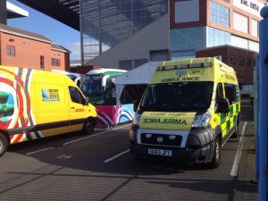Super Saturday - Villa Park Ambulance