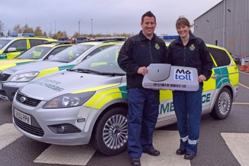 Sean Cooper and Fay Cooper of Rugeley CFR