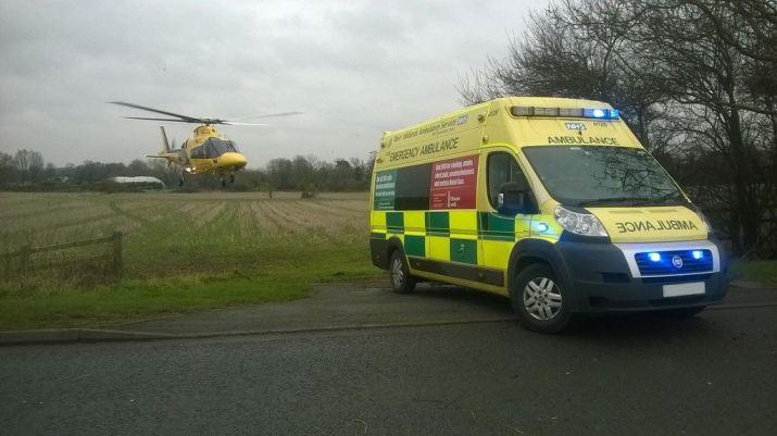HMED 53 and ambulance