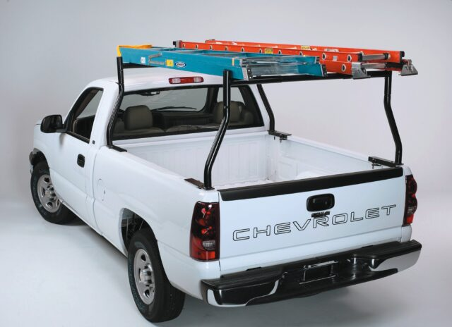steel clamp on truck bed ladder rack for pickup no drilling required