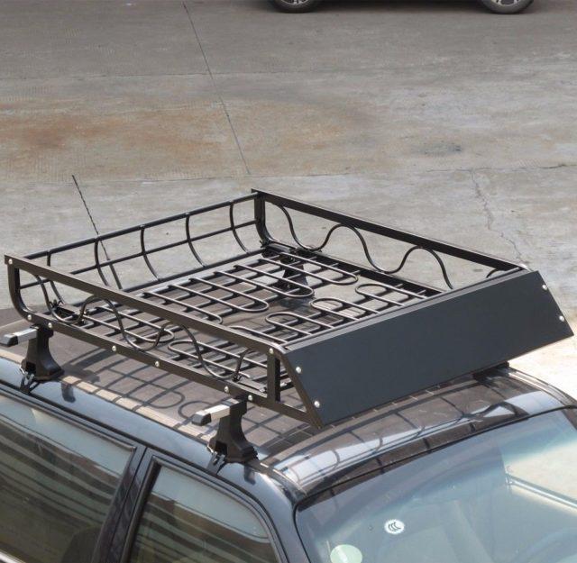 aluminum car roof top luggage cargo rack basket wma