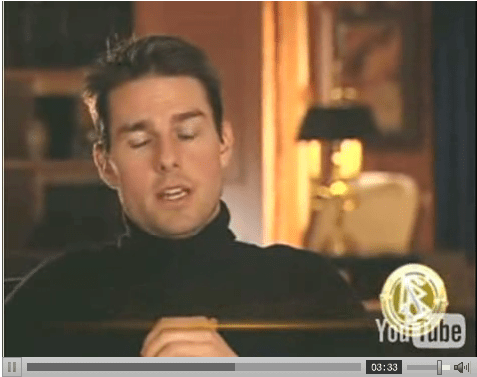 Tom Cruise rules the world