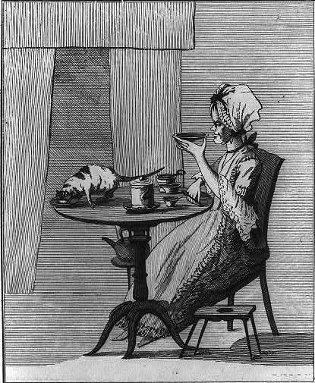 Lady Tasting Tea