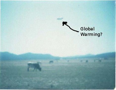 UFO Global Warming