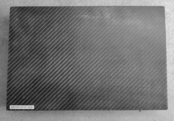 A surface of carbon fiber reinforced polymer, you pervert.