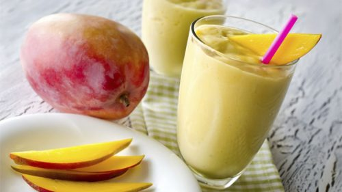 рецепт приготовления смузи из имбиря и манго