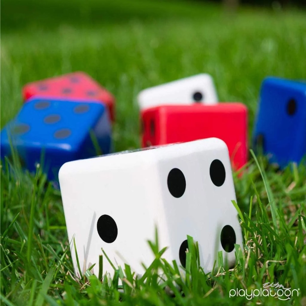 Outdoor dice game