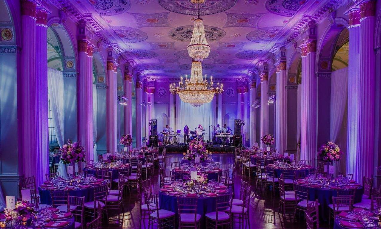 Royal Purple Wedding Atlanta, GA