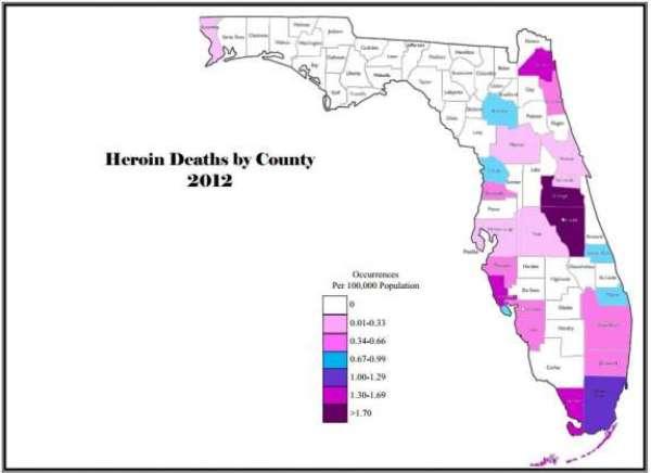 2012 Heroin Deaths