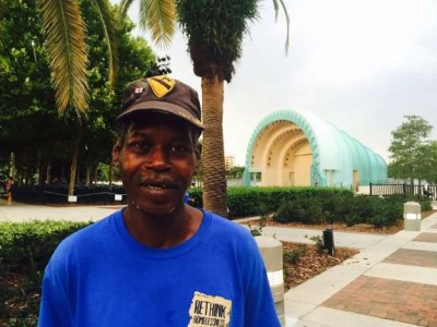 Veteran David Williams is moving into housing after 17 years on the streets./Photo: Catherine Welch