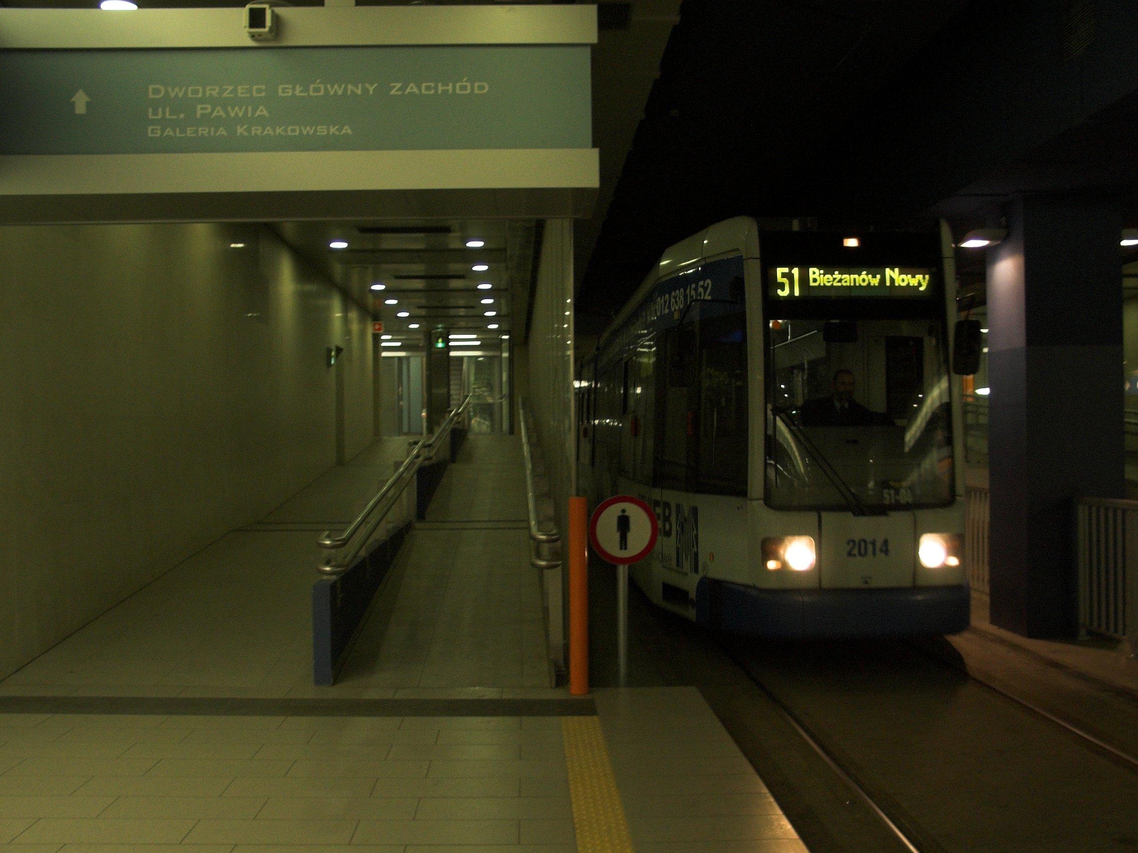 Tunel tramwajowy w Krakowie