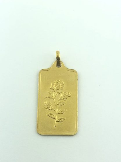 999.9 FINE GOLD/2.5G PENDANT