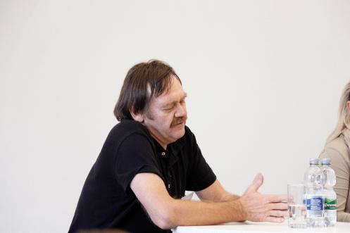 Klaus Zintz erzählt, wie er zum Wissenschaftsjournalismus gekommen ist (Foto: Tanja Schmith)