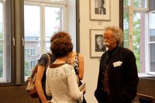 Jean Pütz im Gespräch (Foto: Tanja Schmith)