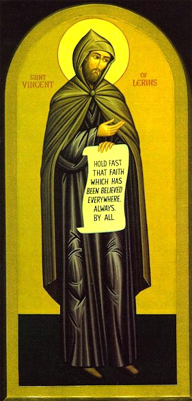 Icon of St Vincent of Lerins