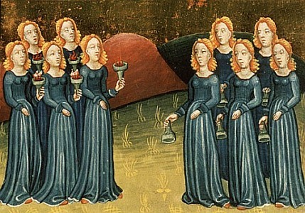 Icon of the Wise and Foolish Virgins