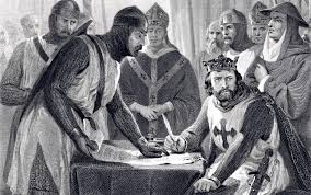 The Signing of the Magna Carta (circa 1215) at Runnymede