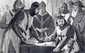 The Signing of the Magna Carta (circa 1215) at Runnymede