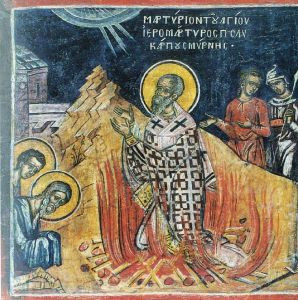 The Martyrdom of St Polycarp