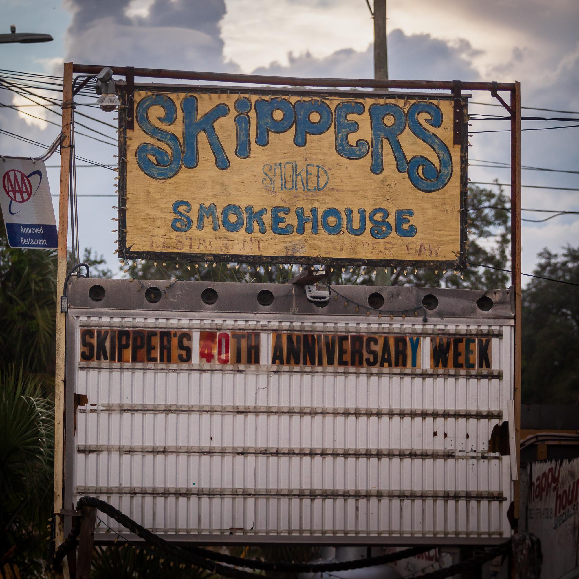 Skippers Smoke House Marquee | David Rañon