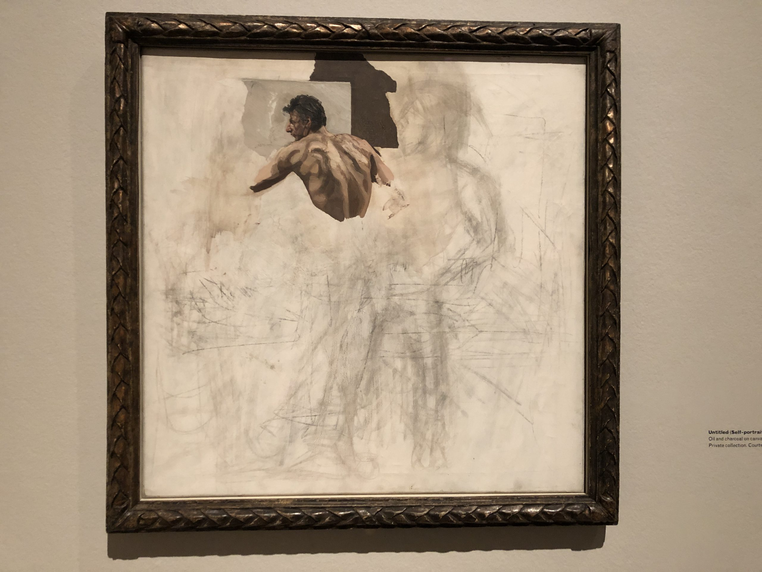 Image of artwork Untitled Self-portrait by artist Lucian Freud
