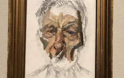 Lucian Freud, by Lucian Freud
