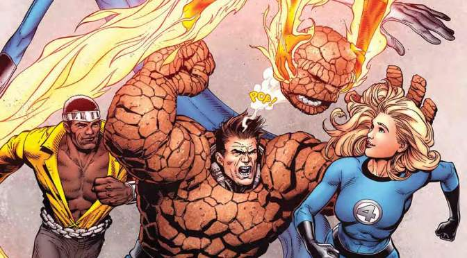 August is Fantastic Four variant month at Marvel