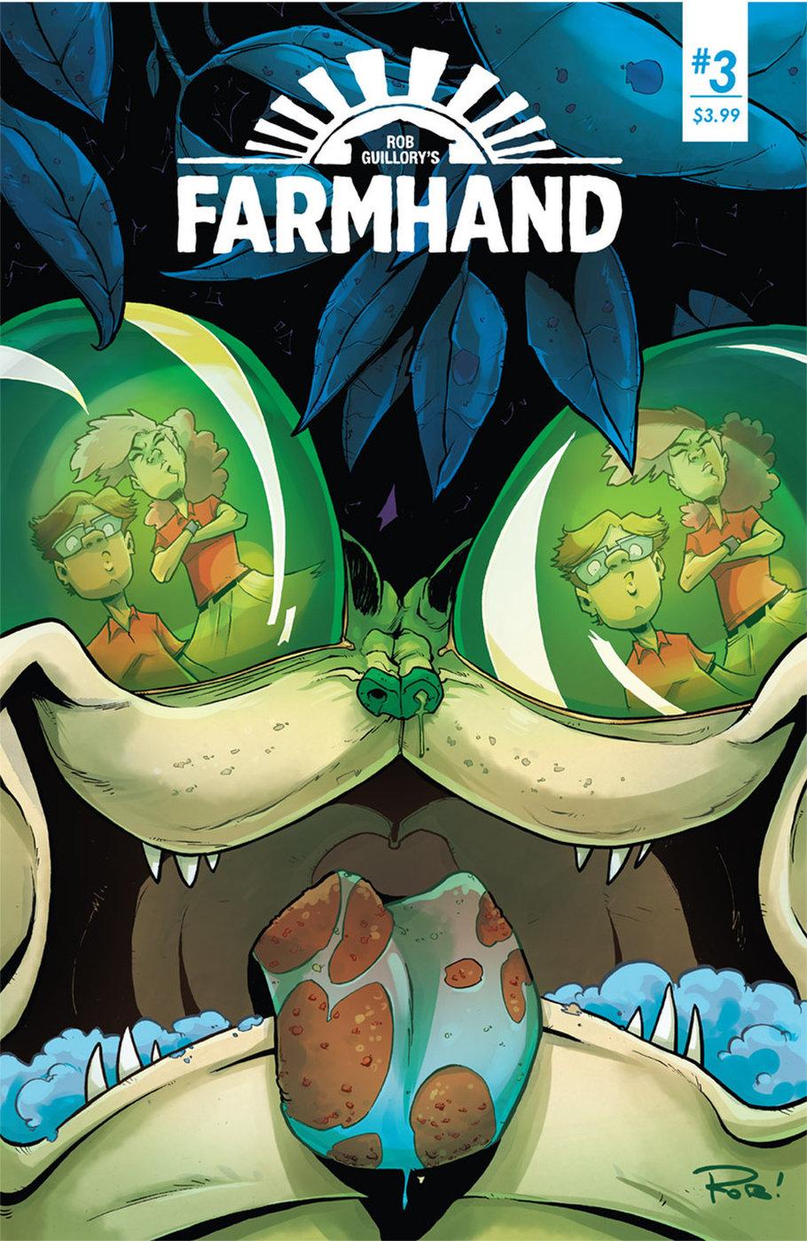 Farmhands pounding