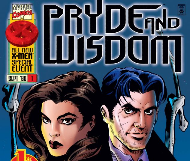 Modern Age (1992-Now) Other Modern Age Superheroes Pryde and Wisdom 1996 series # 1 very fine comic book