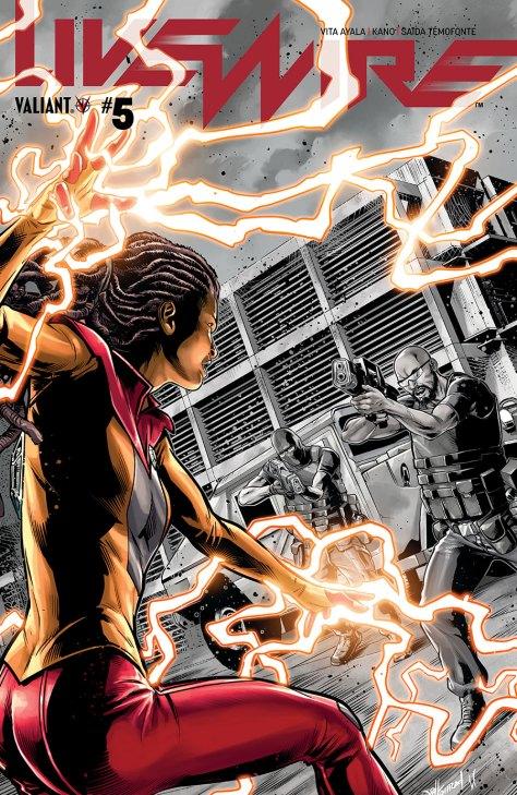 Preview Valiant's 'Livewire' #5, out April 10 - WMQ Comics